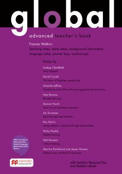 Global Advanced Teacher`s Book + Resource CD + eBook Pack