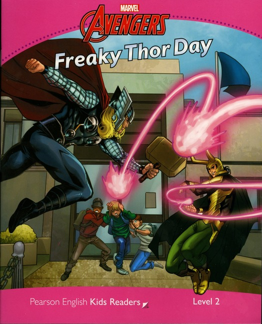 Pearson English Kids Readers: Marvel's Freaky Thor Day