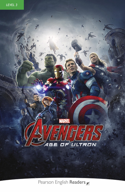 Pearson English Readers: Marvel's Avengers Age of Ultron + Audio CD