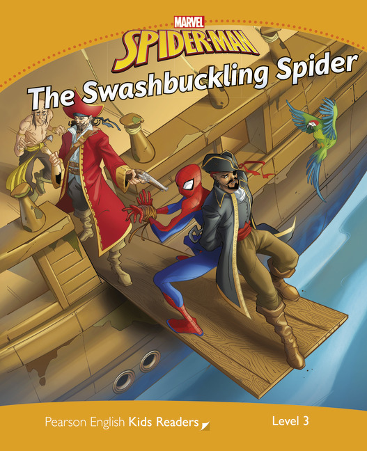 Pearson English Kids Readers: Marvel's Swashbuckling Spider