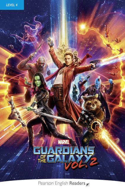 Pearson English Readers: Marvel's Guardians of the Galaxy Vol. 2