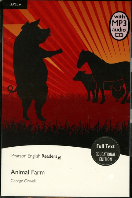 Pearson English Readers: Animal Farm + Audio CD