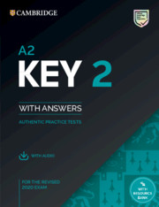 A2 Key 2 Student's Book with Answers with Audio with Resource Bank