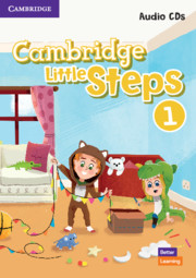 Cambridge Little Steps Level 1 Audio CDs