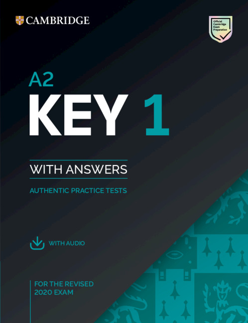 A2 Key 1 for revised exam from 2020 Student's Book Pack (Student's Book with answers with Audio)