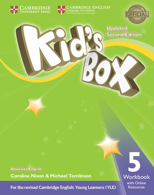 Kid's Box 5 Updated 2nd Edition Workbook with Online Resources American English