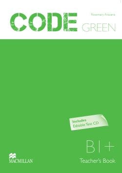 Code Green B1+ Teacher's Book + Test CD Pk