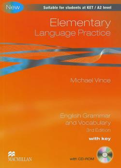 Elementary Language Practice New Ed. With Key + CD-ROM Pack