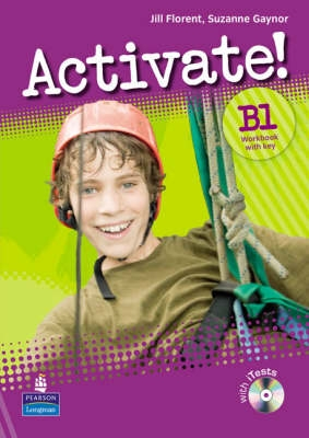 Activate! B1 (Intermediate) Workbook with Key and iTest Multi-ROM