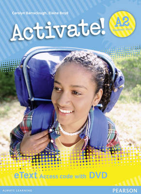 Activate! A2 Students' Book EText Access Card for Pack