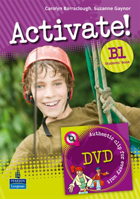 Activate! B1 Level Students Book/DVD Pack