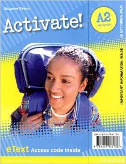 Activate! A2 Workbook EText Access Card